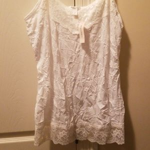 Dress barn lace Camisole